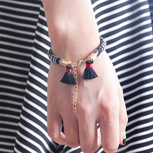 Cute tassel bracelet for women