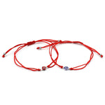Thin Red Thread Evil Eye Charms Bracelet