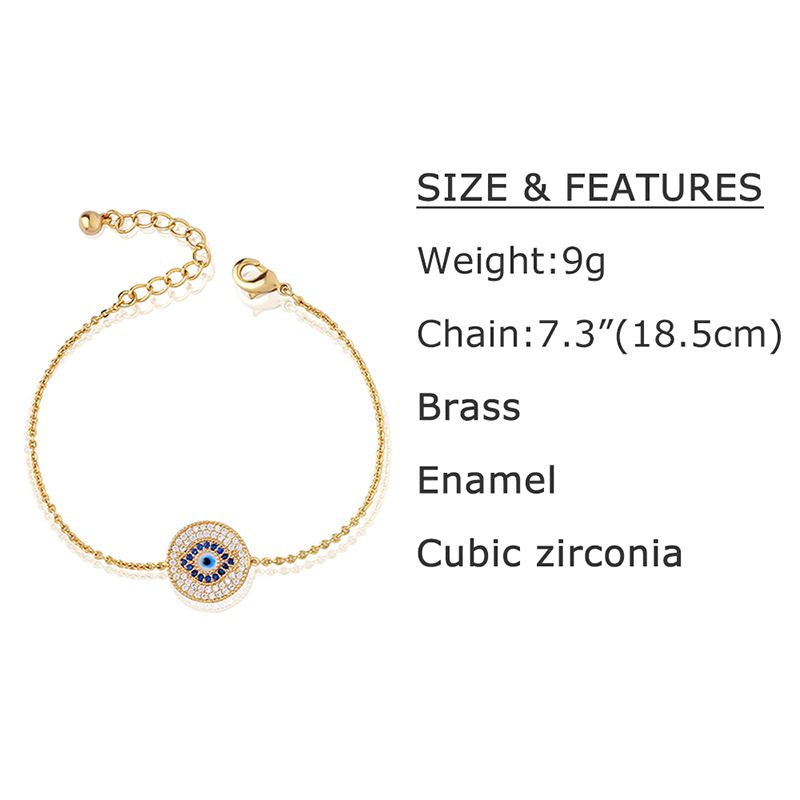 Evil Eye Bracelet for Women