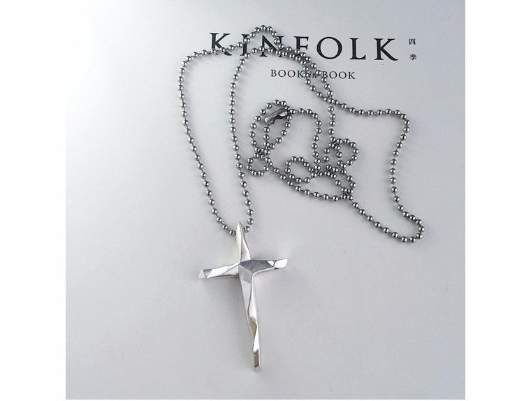 Cross  Long Pendant Necklace For men & women