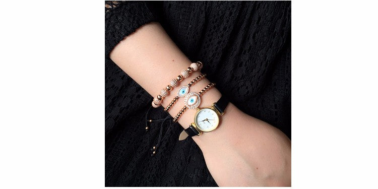 Charm Evil Eye Bracelet for Men & Women