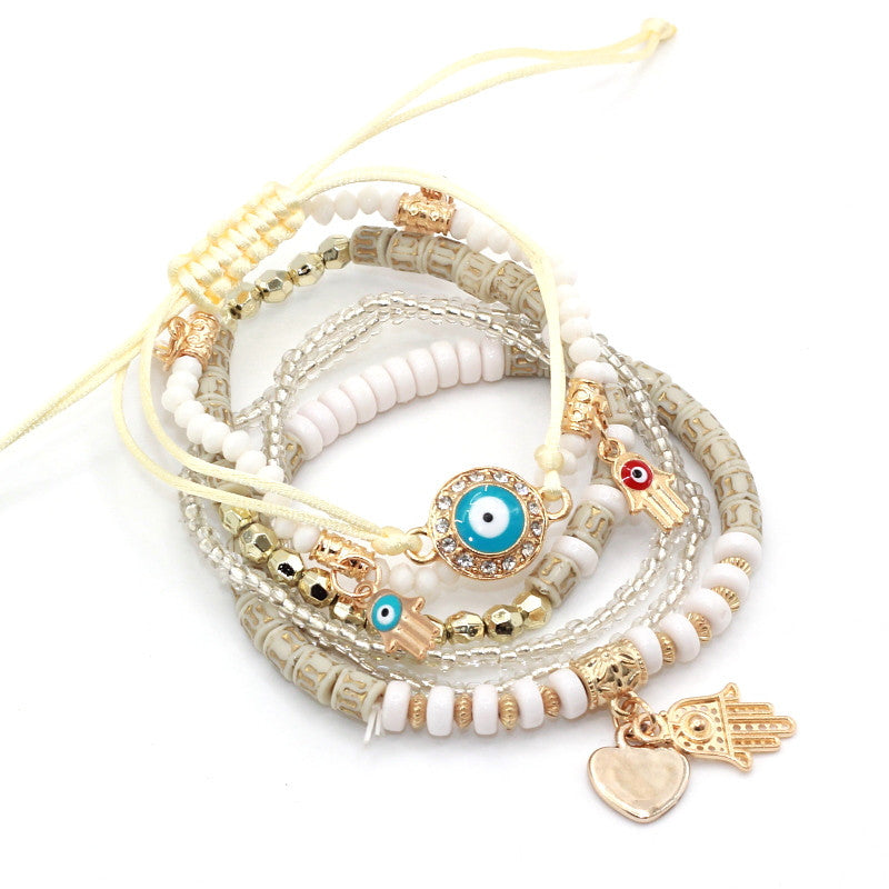 6pcs/set Pendants Women Bracelets
