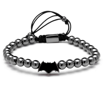 6mm Round Titanium Beads Charms Bracelet