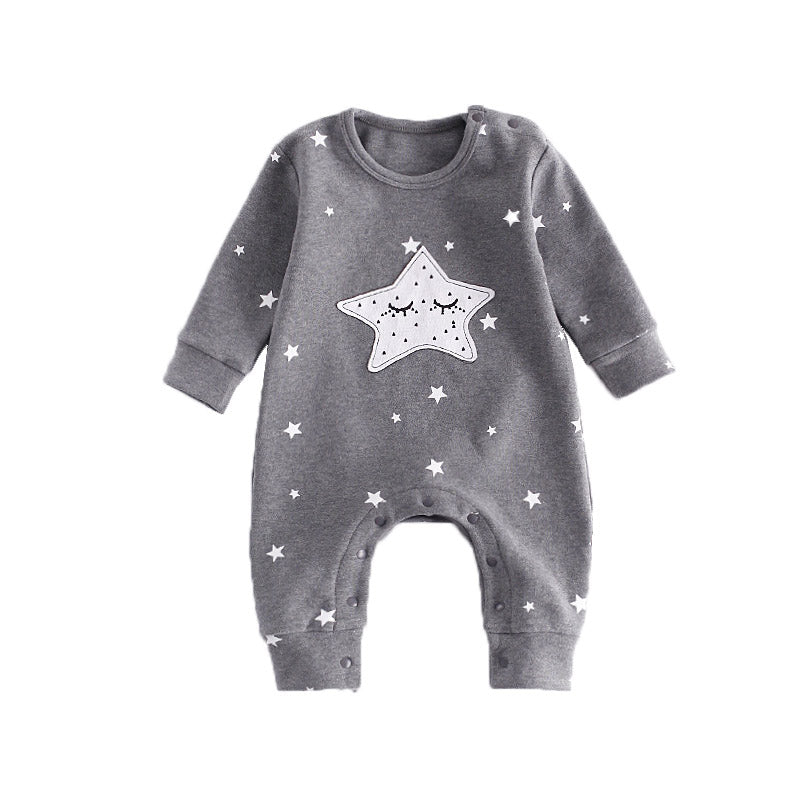 New Baby Jumpsuit Star And Moon