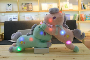 Unicorn Led Light Green / Pink