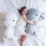 30/50CM Cute Stuffed Soft Bunny Doll 4 Baby