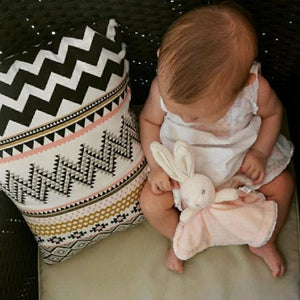 Cute Baby Bunny Towel Toy