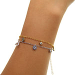 Evil eye Bracelet Trendy Charm Pendants