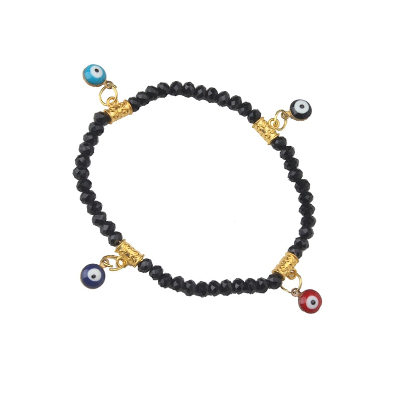 EVIL EYE new fashion black bead bracelet