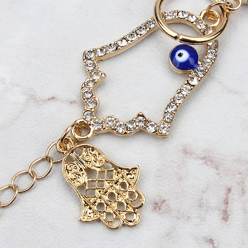 Evil eye key chain Hamsa