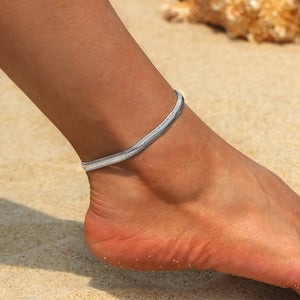 Gold Silver Anklets For Women