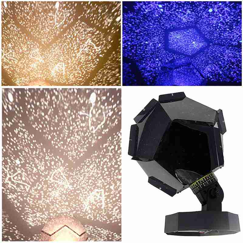 DIY Starry Sky Laser Projector Light Home Decor