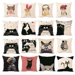 Cat Decorative Pillowcases