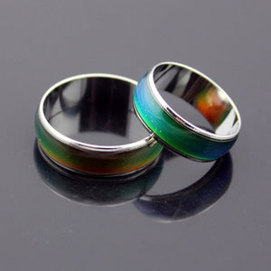 Changing Color Mood Feeling / Emotion Temperature Ring