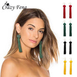 Crazy Feng Handmade Tassel Earrings 2018