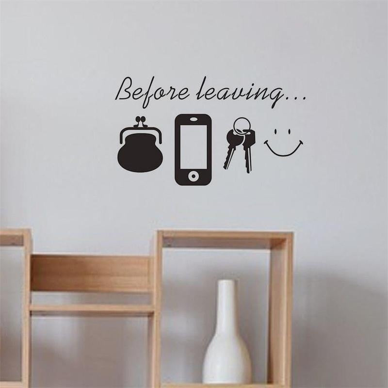 New Family Letter Quote Removable Vinyl Decal Art Mural DIY Home Decor Wall Stickers