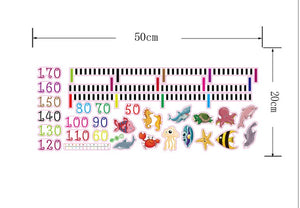 Wall Stickers - Kids Height for Children's Room