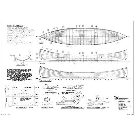 Warren Cole Guideboat Plan