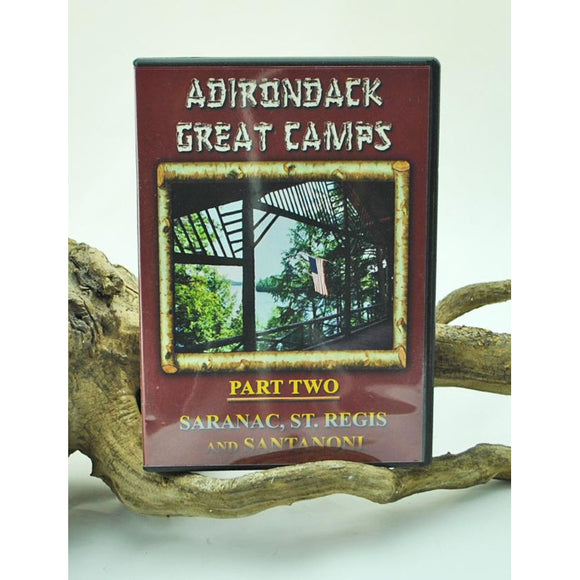 Adirondack Great Camps, Part II (DVD)