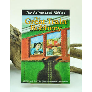The Adirondack Kids #4: The Great Train Robbery