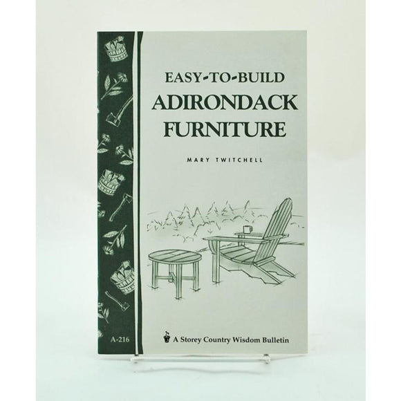 Easy To Build Adirondack Furniture
