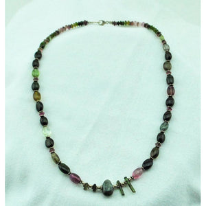 Beaded Tourmaline Necklace
