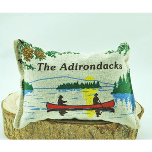 Souvenir of the Adirondacks Balsam Pillow