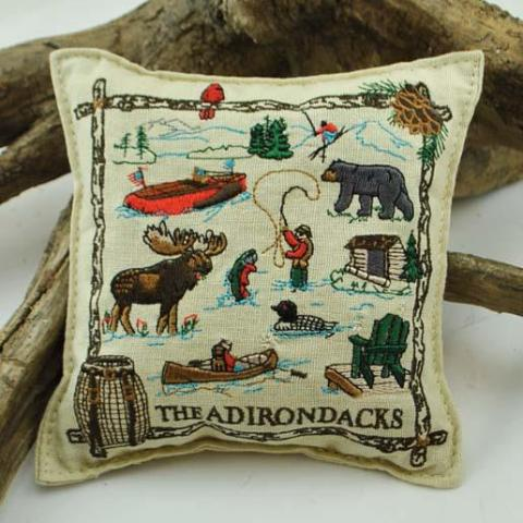 Adirondack Collage Balsam Pillow (Small)