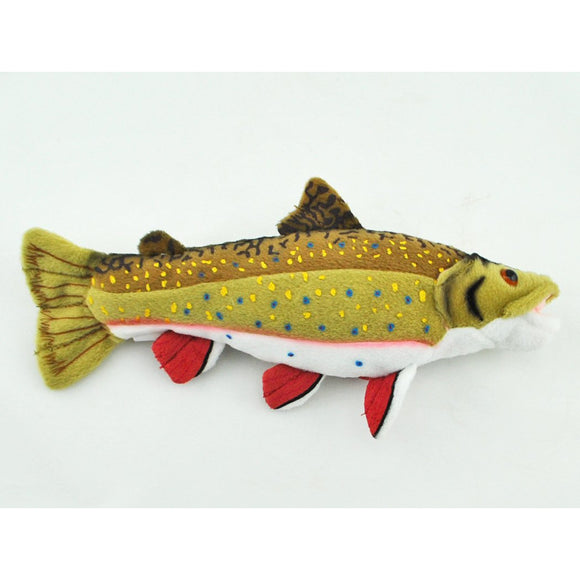 Small Brook Trout Plush (Ages 3+)