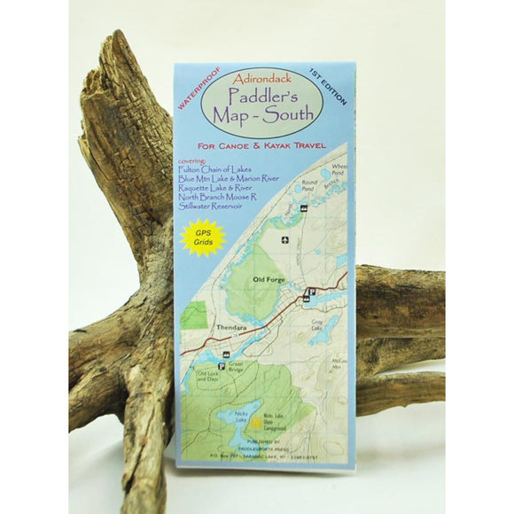 Adirondack Paddler's Map South