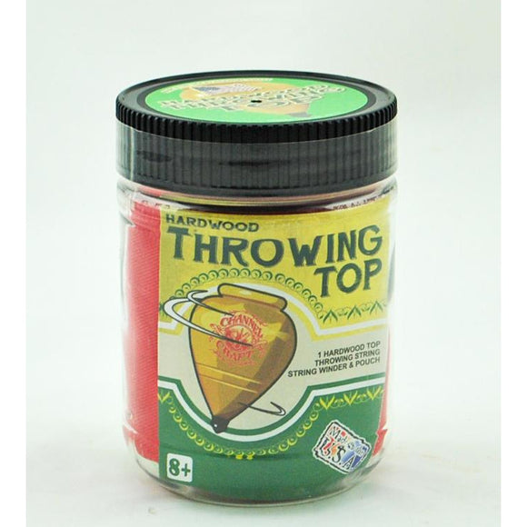 Hardwood Throwing Top