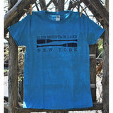 Blue Mountain Lake Oar and Outline Tee (2 Colors Available)