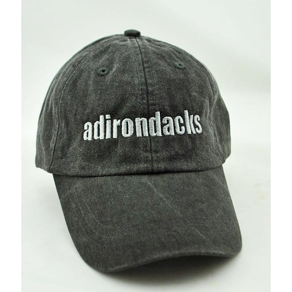 Embroidered Adirondacks Hat with Leather Band (3 Colors Available)