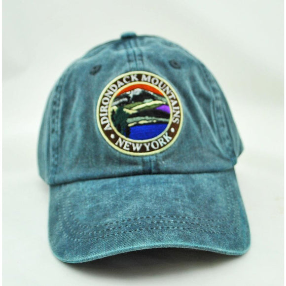 Adirondack Mountains Patch Hat (3 Colors Available)