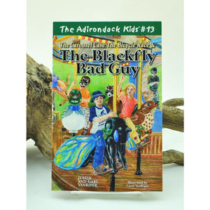 The Adirondack Kids #13: The Carousel Case, The Bicycle Race, & The Blackfly Bad Guy