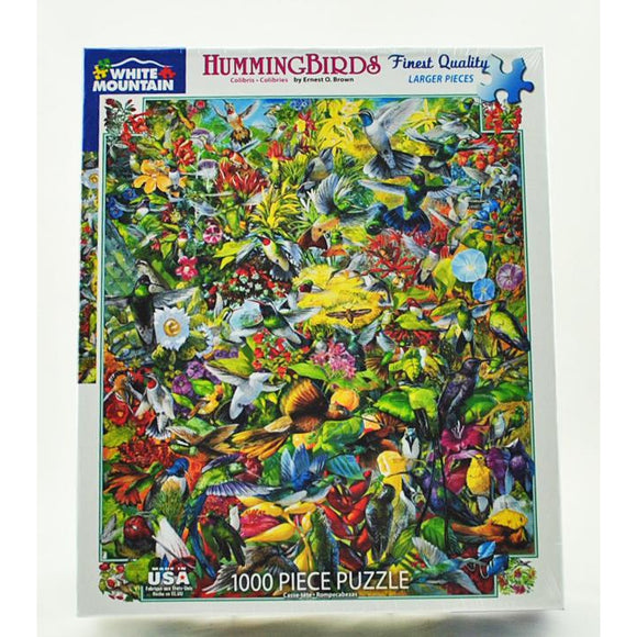 Hummingbirds 1,000 Piece Puzzle