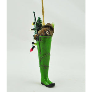 Fishing Wader Ornament