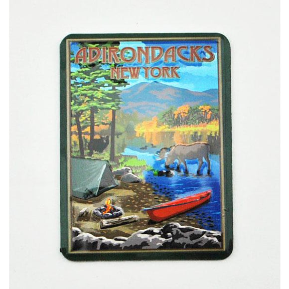 Camp Scene Magnet