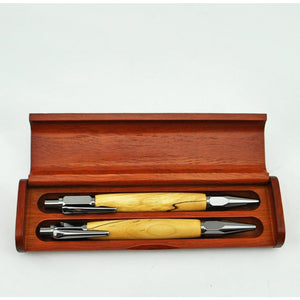Hand Crafted Wooden Pen & Pencil Set