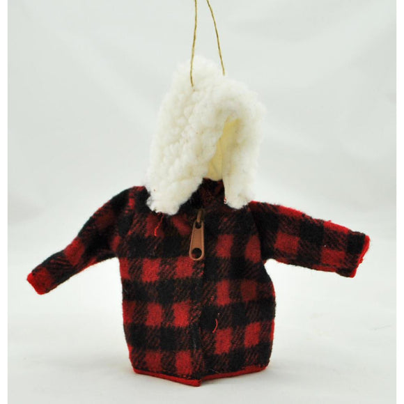Plaid Jacket Ornament (2 Styles Available)
