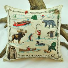 Adirondack Collage Balsam Pillow (Large)