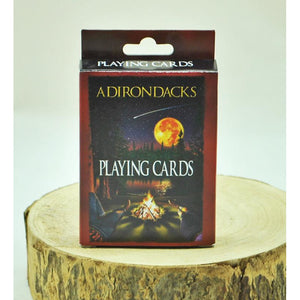 Campfire Scene Playing Cards