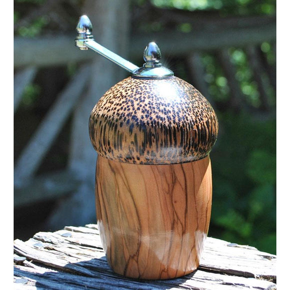 Olivewood Acorn Peppermill