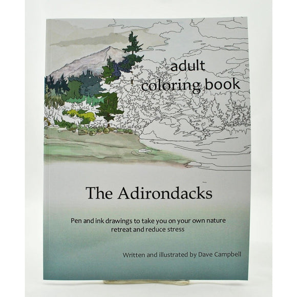 The Adirondacks Adult Coloring Book