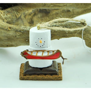 S'more with Canoe Ornament