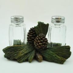 Pine Cone Salt and Pepper Shakers