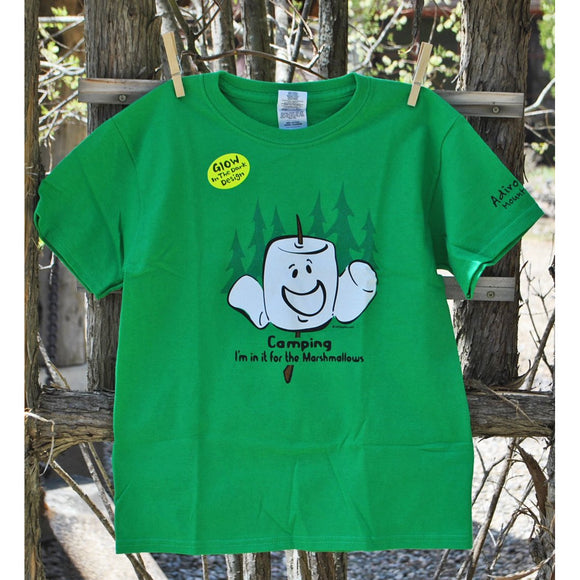 Camping Marshmallow Youth Tee