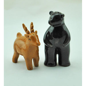 Bear & Deer Salt and Pepper Set