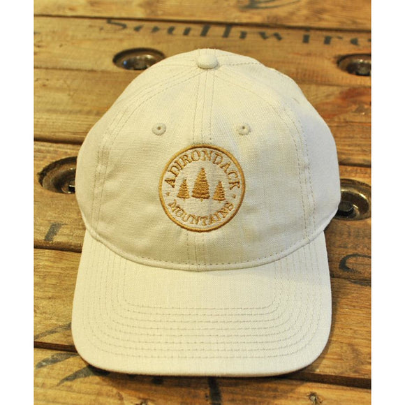 Adirondack Mountains Tan Linen Hat