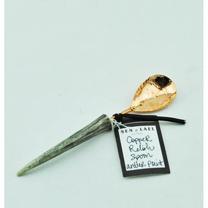 Copper Relish Spoon